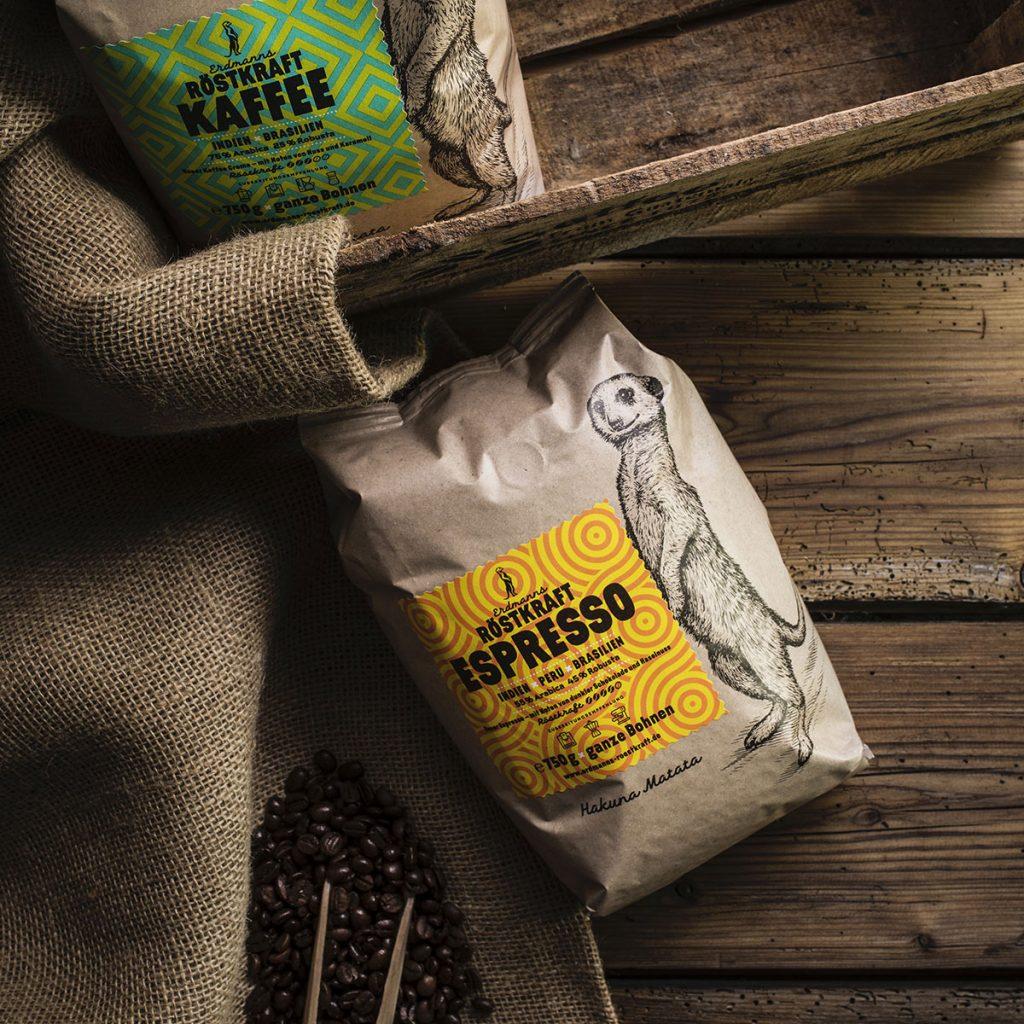 Erdmanns Röstkraft - Kaffee und Espresso