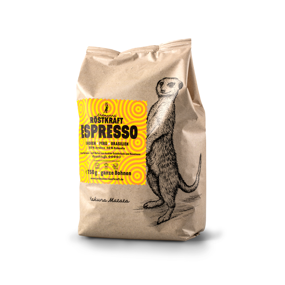 Erdmanns Röstkraft - Espresso